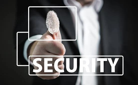 security thumb print
