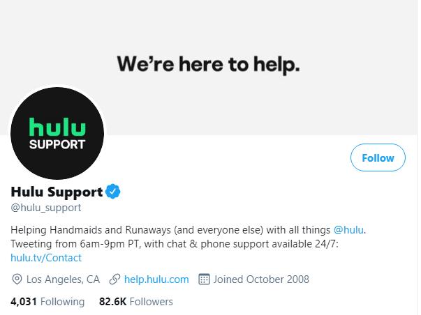 twitter_hulu_support