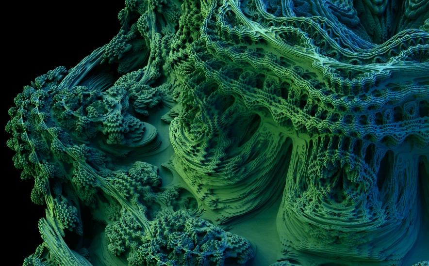 Another Mandelbulb Zoom