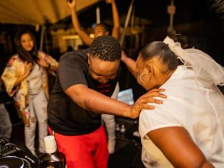 Check out moment Shimzas mom joined him on stage while performing Photos