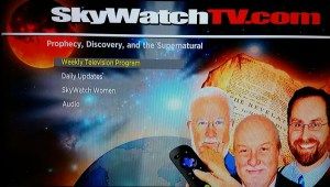 Screenshot of the SkyWatchTV Roku channel