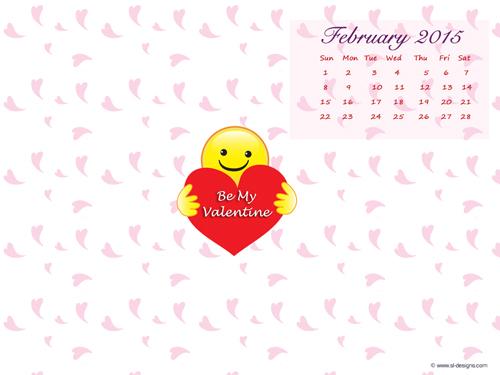 February 2011 calendar wallpaper