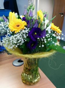 Tilldelnings blommor från ASLIB