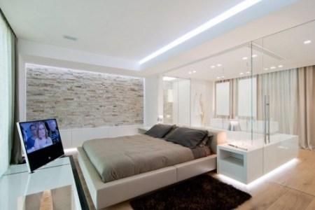 Huis inrichten 2019 » badkamer in slaapkamer voorbeelden | Huis ...