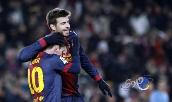 برشلونة يسحق خيتافي بسداسية