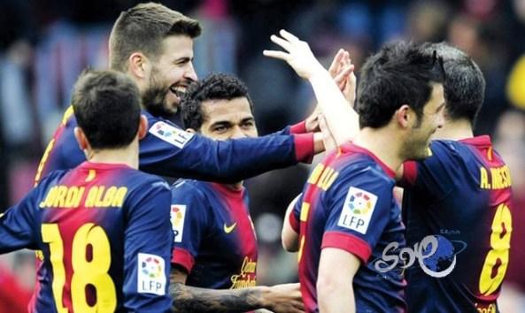 10 لاعبين من برشلونة يخضعون لفحص المنشطات
