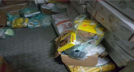 أمانة الطائف تغلق مستودعا لتخزين المواد الغذائية الفاسدة