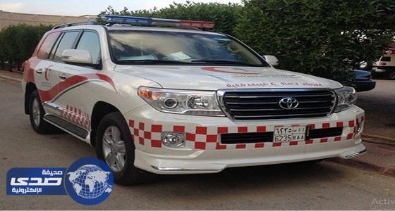 مصرع وإصابة 12 شخص في حادث انقلاب بالخرمة والسيل الكبير