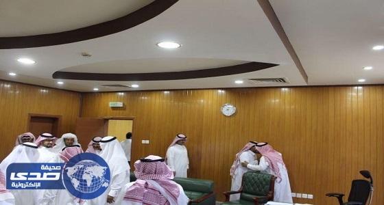 البريد السعودي بالجوف تقيم حفل معايدة لمنسوبيها