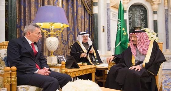 خادم الحرمين يستقبل سفير جمهورية تركيا لدى المملكة