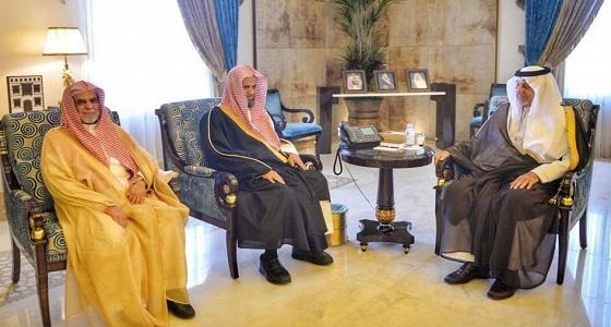 أمير مكة يستقبل النائب العام