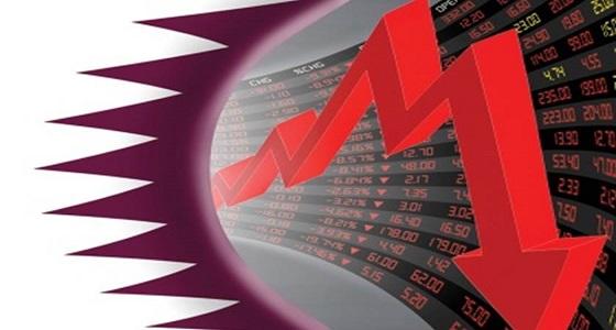 """مع استمرار تمويلها للإرهاب.. """" انهيار البورصة القطرية """" نتيجة طبيعية للانهيار السياسي والدبلوماسي"""