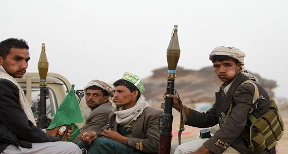 بعد انهيارها تحت غطاء طيران التحالف.. مليشيا الحوثي تستغيث في الجوف