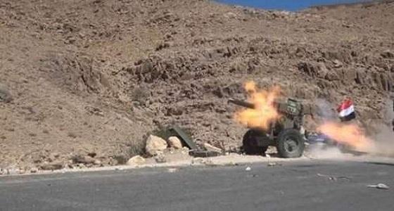 """الجيش الوطني يخترق تحصينات """" الحوثي """" شرق صنعاء"""