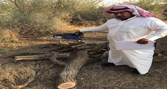بالصور.. ضبط مخالفين لنظام المراعي والغابات بمنتزه ثادق الوطني