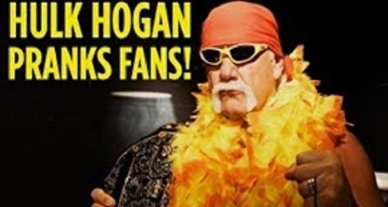 بالفيديو.. هوجان ينفذ مقلبا مرعبا في الحضور داخل متحف الشمع