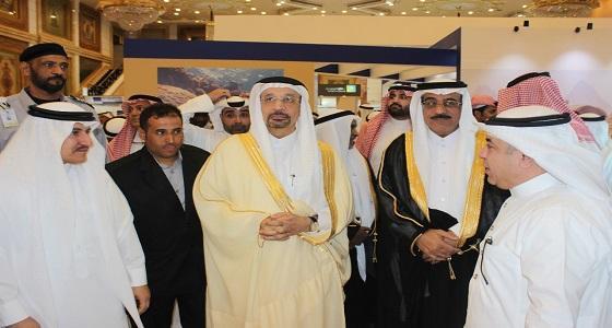 """بالصور.. """" الفالح """" : 1.3 ترليون دولار اجمالي الموارد المعدنية في المملكة"""