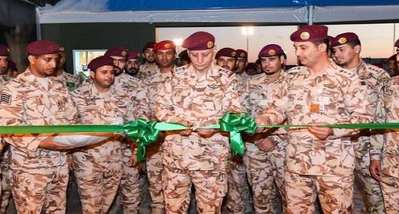 بالصور.. الفريق العتيبي يفتتح معرض قوات الأمن الخاصة بالجنادرية 32