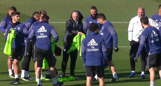 تدريبات متنوعة لريال مدريد استعدادًا للقاء سوسيداد