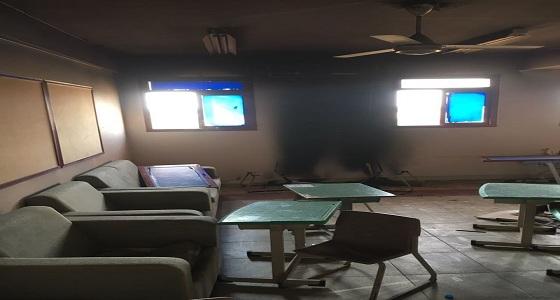 بالفيديو.. حريق في مدرسة بنين بجازان يؤدي إلى إغلاقها