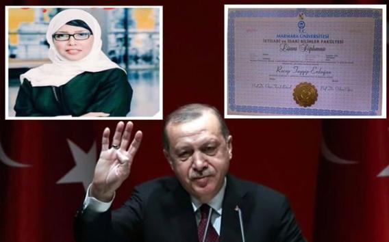 نورة شنار: شهادة تَخرُّج أردوغان مزوَّرة ورئاسته غير قانونية