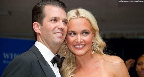 نقل زوجة ابن ترامب إلى المستشفى بعد تعرضها لمادة مجهولة