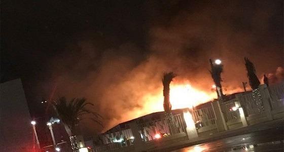 الدفاع المدني توضح حقيقة حريق جزء من جامعة الملك سعود