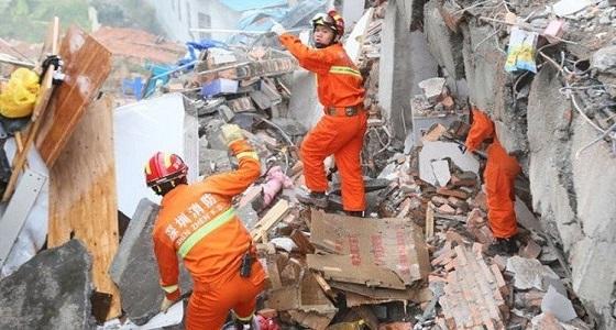 مصرع 8 أشخاص بانهيار أرضي في جنوب الصين