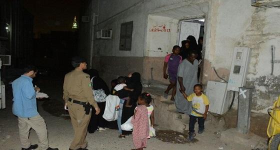 بالصور.. ضبط 227 مخالفًا في مكة