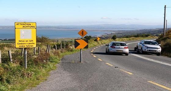 35 % من سكان العالم يستخدمون الجانب الأيسر من الطريق للقيادة