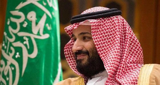 بالفيديو.. ولي العهد يحرج مراسل الجزيرة القطرية