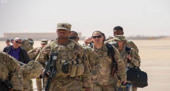 """بالصور.. وصول القوات الأمريكية لبدء مناورات """" الصداقة 2018 """""""