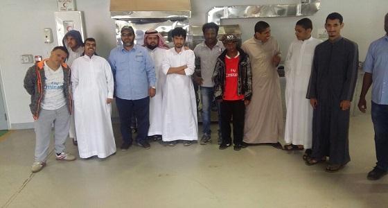 شراكة مجتمعية بين تعليم مكة والمعهد الصناعي لطلاب الإعاقة الفكرية