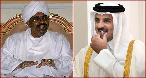 """قطر تواصل استغلالها لأفريقيا.. نوايا خفية لتميم يحملها لـ """" البشير """""""
