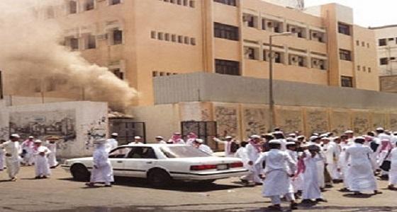 إخلاء طلاب مدرسة بتبوك إثر حريق