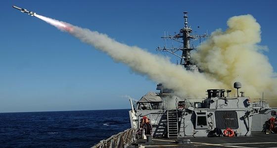 القوات البحرية الباكستانية تختبر صاروخًا مضادًا للسفن
