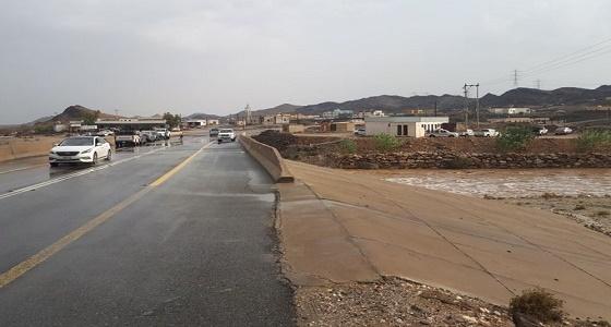 """الأمطار تعزل سكان """" حميد العلايا  """" وتلحقهم بأضرار جسيمة"""