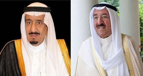 أمير دولة الكويت يشكر خادم الحرمين الشريفين ويشيد بنتائج القمة العربية الـ 29