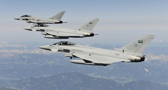 """طائرات التحالف العربي تدمر قاعدتي إطلاق صواريخ لـ """" الحوثيين """""""