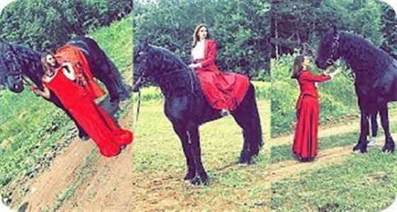 بالفيديو.. مريم حسين تستعرض مهاراتها في ركوب الخيل بعد خسارة منتخب بلادها في روسيا