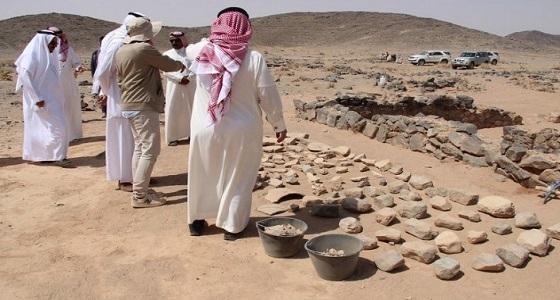 هيئة السياحة تعلن عن اكتشافات أثرية جديدة في الرياض