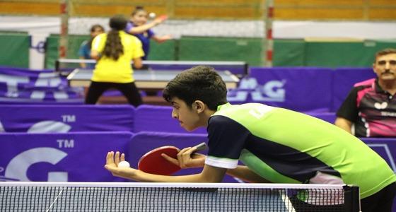 خالد الشريف ينتزع ذهبية فردي في بطولة غرب أسيا لكرة الطاولة