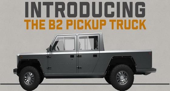 بولينجر موتورز تعلن عن شاحنة بيك أب كهربائية جديدة