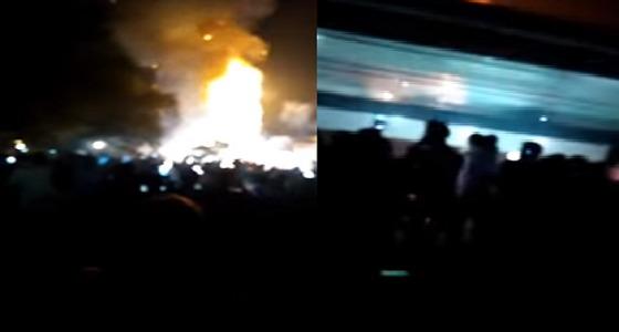 بالفيديو.. مقتل أكثر من 50 شخص دهسًا بالقطار