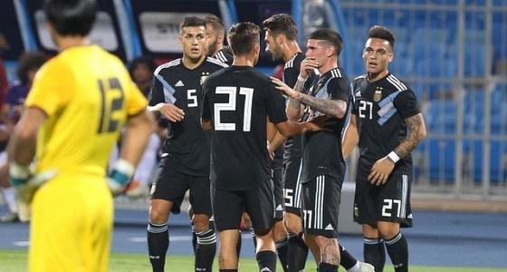 بالفيديو.. منتخب الأرجنتين يستعد للقاء البرازيل في الرياض