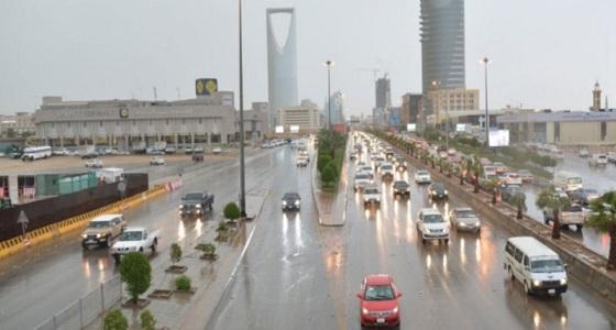 الأرصاد تحذر من أمطار رعدية في الرياض