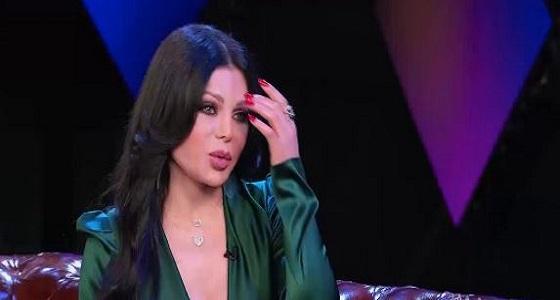 هيفاء وهبي تفاجيء جمهورها: أنا مغرومة ولا اهتم بمقاييس الجمال لدى شريكي