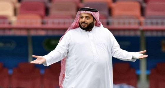 تركي آل الشيخ يقصف جبهة المرتزق جمال ريان