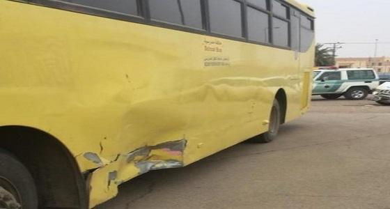 مضاربة بين طالبات مدرسة وحادث لحافلة مدرسة أخرى بتعليم شقراء