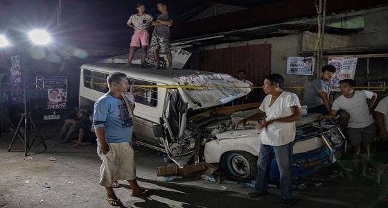 بالفيديو.. زلزال ثانِ يضرب جنوب الفلبين